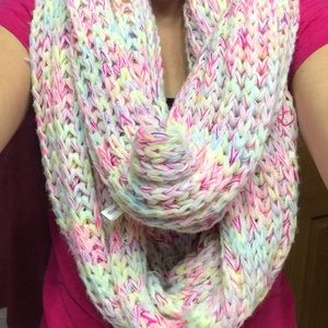 Colorful Knit Aeropostale Infinity scarf